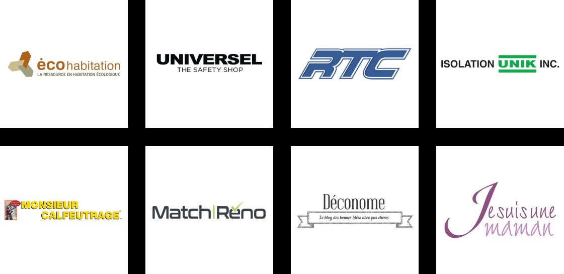 Logos Partenaires Apprentis