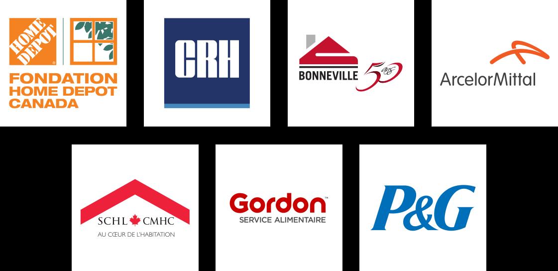 Logos Partenaires Grands Partenaires - Partenaires Maison