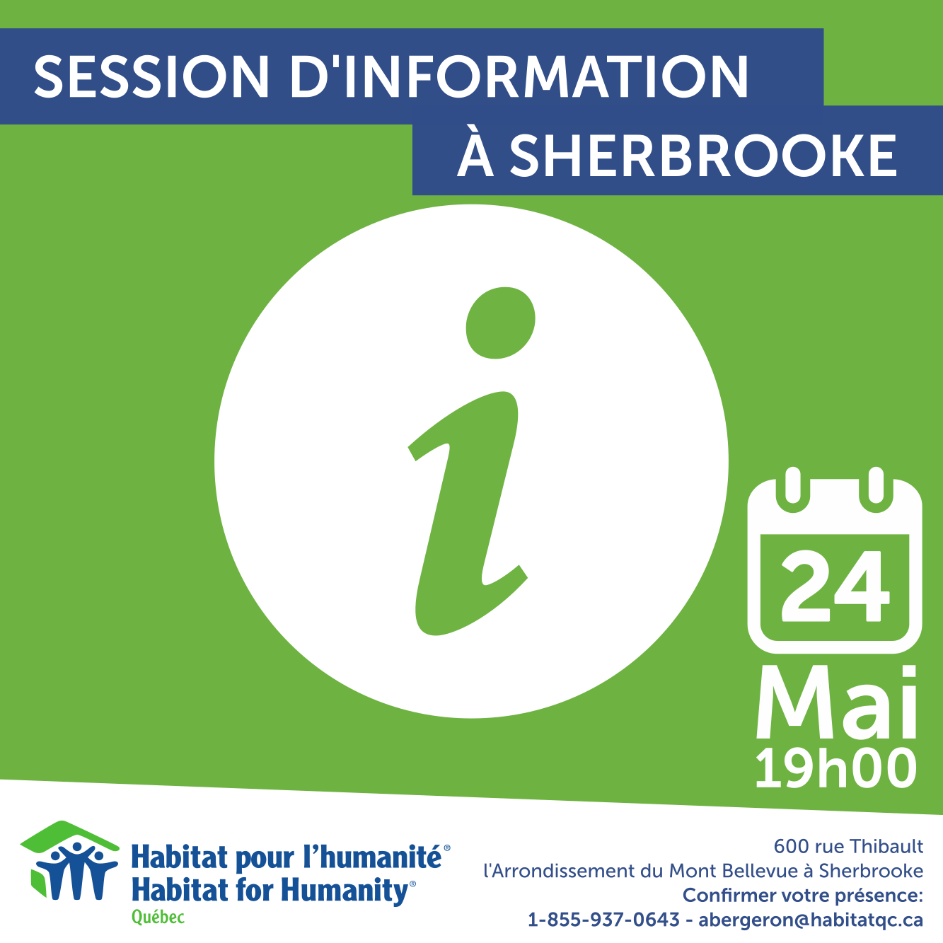 2016 - FB_Session Information Sherbrooke 25 Mai