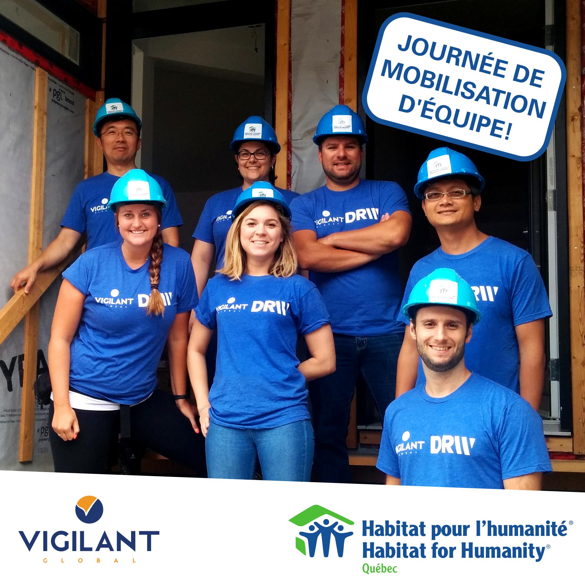 2016 - FB Vigilant Global - Mobilisation equipe