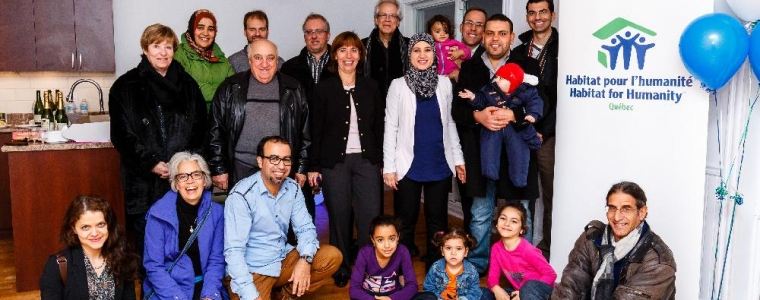 Resmise de clef à Montréal-18 novembre 2015 (Quartier Hochelaga-Maisonneuve)